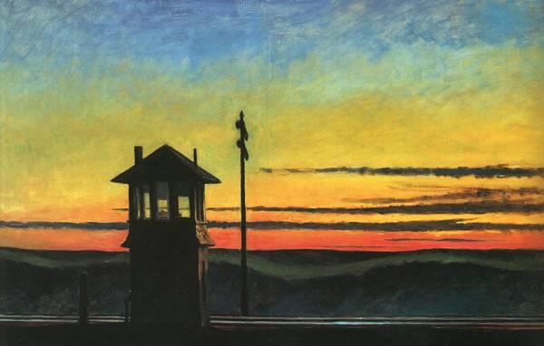 Railroad Sunset CGF